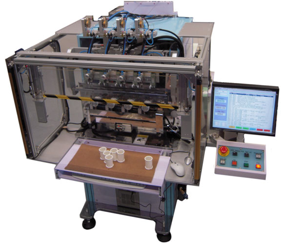 Four Spindle Multi Axis Automatic Coil Winding Machine