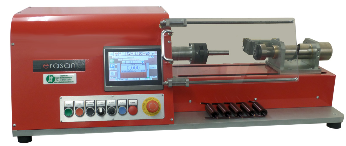 Wire Machine | Compact One Spindle Floor Standing Coil Winding Machine With