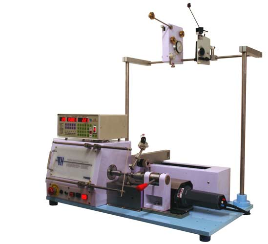 Wh 751 Single Spindle Semi Automatic Benchtop Coil Winding
